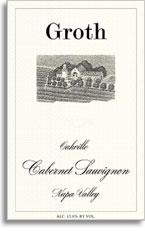 1992 Groth Vineyards & Winery Cabernet Sauvignon Oakville