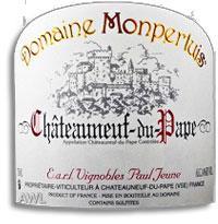2009 Domaine de Monpertuis Chateauneuf-du-Pape Cuvee Classique