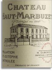 2008 Chateau Haut Marbuzet Saint-Estephe