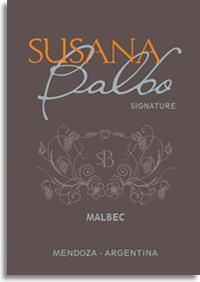 2008 Susana Balbo Malbec Signature Mendoza