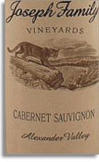 2008 Joseph Family Vineyards Cabernet Sauvignon Alexander Valley