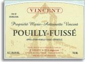2009 Maison J.J. (Jean Jacques) Vincent Pouilly-Fuisse Propriete Marie Antoinette Vincent