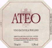 2011 Ciacci Piccolomini d'Aragona Ateo