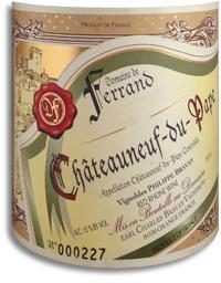 2003 Domaine de Ferrand Chateauneuf-du-Pape