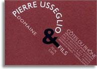 2012 Domaine Pierre Usseglio & Fils Cotes du Rhone