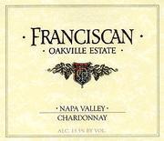 Vv Franciscan Chardonnay Napa Valley