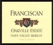 2007 Franciscan Merlot Napa Valley