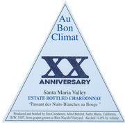 2007 Au Bon Climat Chardonnay 20th Anniversary Passant des Nuits-Blanches au Bouge Santa Maria Valley