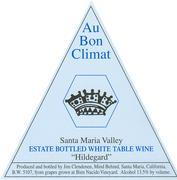 2010 Au Bon Climat Hildegard White Table Wine Santa Maria Valley