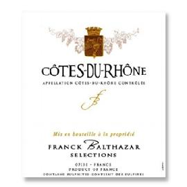 2015 Franck Balthazar Cotes du Rhone