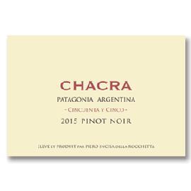 2015 Bodega Chacra Pinot Noir Cincuenta y Cinco