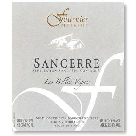 """2015 Domaine Fournier Pere et Fils Sancerre """"Les Belles Vignes"""""""