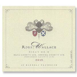 2015 Rossi-Wallace Pinot Noir