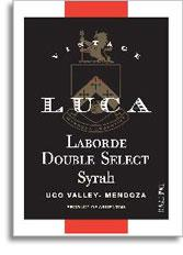 2012 Luca Syrah Laborde Double Select Uco Valley Mendoza
