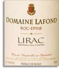 2013 Domaine Lafond Lirac Roc Epine