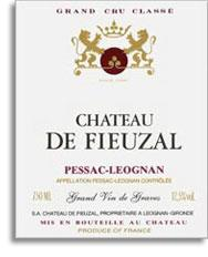 2011 Chateau de Fieuzal Pessac-Leognan (Pre-Arrival)