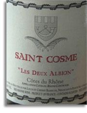 2010 St. Cosme Cotes du Rhone Les Deux Albion
