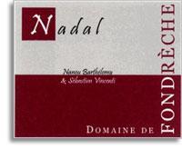 2007 Domaine De Fondreche Cotes Du Ventoux Cuvee Nadal