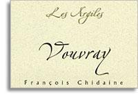 2010 Francois Chidaine Vouvray Les Argiles