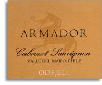 2010 Odfjell Vineyards Cabernet Sauvignon Armador Maipo Valley