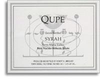 2001 Qupe Syrah Bien Nacido Hillside Estate Santa Maria Valley