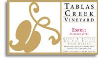 2010 Tablas Creek Vineyard Esprit De Beaucastel Paso Robles