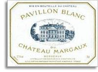2002 Chateau Margaux Pavillon Blanc