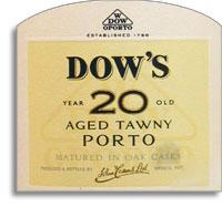 NV Dow Tawny Port 20 Year Old