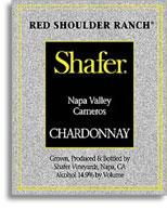 2010 Shafer Vineyards Chardonnay Red Shoulder Ranch Carneros Napa Valley