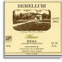 2012 Granja Nuestra Senora de Remelluri Rioja Blanco