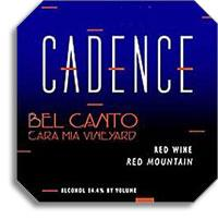 2013 Cadence Winery Bel Canto Red Wine Red Mountain