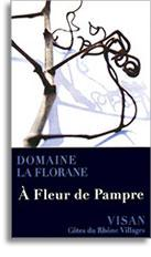 2010 Domaine La Florane Cotes-du-Rhone-Villages Visan A Fleur de Pampre Rouge