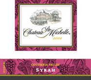 2011 Chateau Ste. Michelle Syrah Columbia Valley