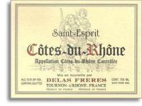 2009 Delas Freres Cotes Du Rhone St Esprit