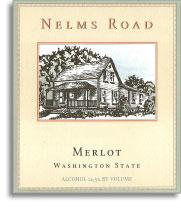 2012 Woodward Canyon Winery Merlot Nelms Road Columbia Valley