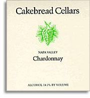 Vv Cakebread Cellars Chardonnay Napa Valley