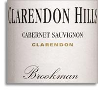 2009 Clarendon Hills Cabernet Sauvignon Brookman Clarendon