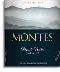 2009 Montes Pinot Noir Limited Selection Casablanca Valley