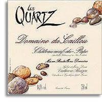 2001 Le Clos du Caillou Chateauneuf-du-Pape Les Quartz
