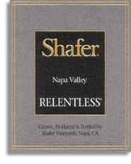 2010 Shafer Vineyards Relentless Napa Valley