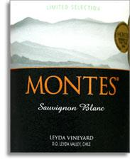 2010 Montes Sauvignon Blanc Limited Selection Leyda Vineyard Leyda Valley