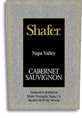 2004 Shafer Vineyards Cabernet Sauvignon One Point Five Stags Leap District