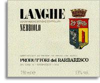 Vv Produttori Del Barbaresco Nebbiolo Langhe