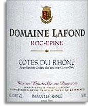 2009 Domaine Lafond Roc-Epine Cotes du Rhone