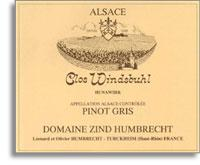 2007 Domaine Zind Humbrecht Tokay-Pinot Gris Clos Windsbuhl