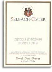 2011 Selbach Oster Zeltinger Schlossberg Riesling Kabinett