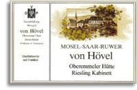 2011 Von Hovel Oberemmeler Hutte Riesling Kabinett