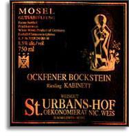 2009 St. Urbans-Hof Ockfener Bockstein Riesling Spatlese