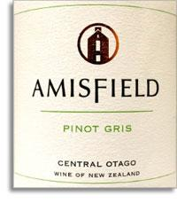 2012 Amisfield Wine Company Pinot Gris Central Otago