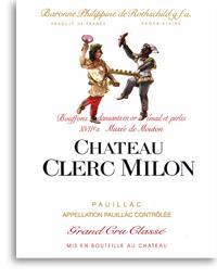 2002 Chateau Clerc Milon Pauillac